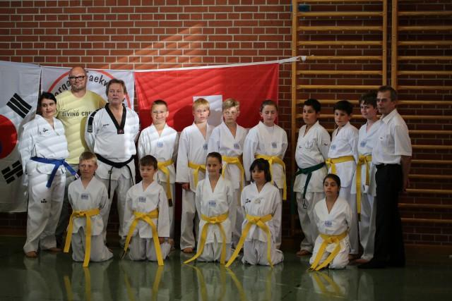 Erste erfolgreiche Gurtprüfungen bei Aargau-Taekwondo