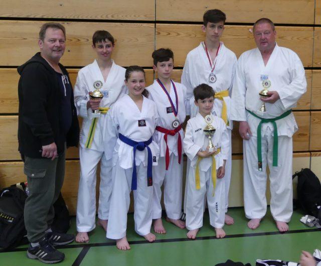 Fünf Medaillen am Int.Poomsae-Turnier in Nagold